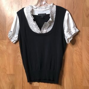 Size Large Tuxedo sweater vest top